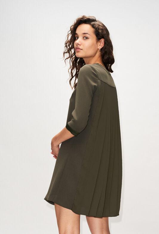RIBAMBELLEH19 : Dresses color KAKI ARMY