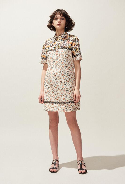 REQUIN : Dresses color IVOIRE