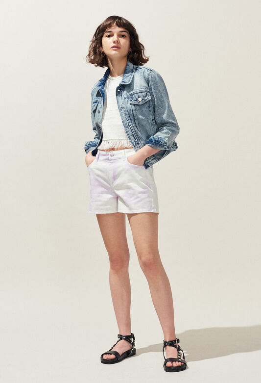 ELLIPSE : Skirts & Shorts color LILAS
