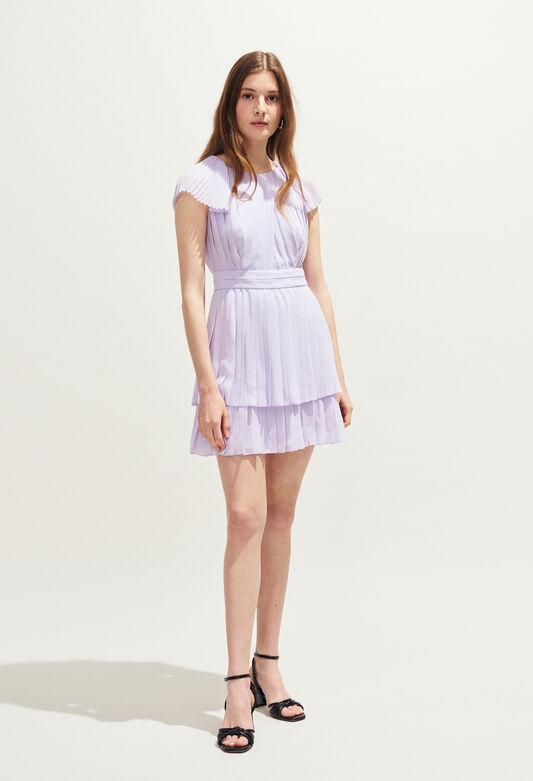 RIZA : Dresses color LILAS