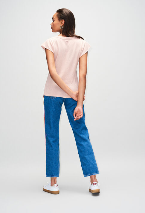 TRESSEH19 : T-shirts color NUDE