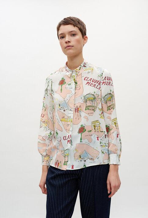 CHIMEREE20 : Tops & Shirts color PRINT CLAIR