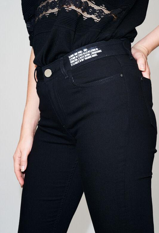 POWERH19 : Jeans & Pants color BLACK