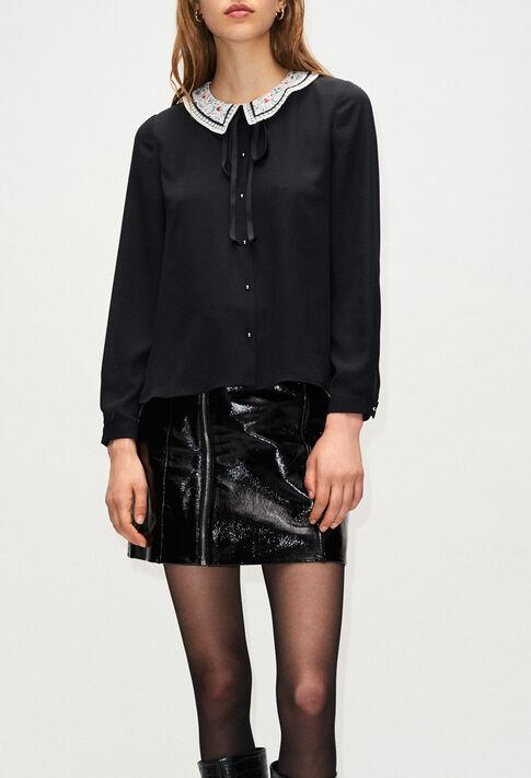 BLANDINEH19 : Tops & Shirts color BLACK