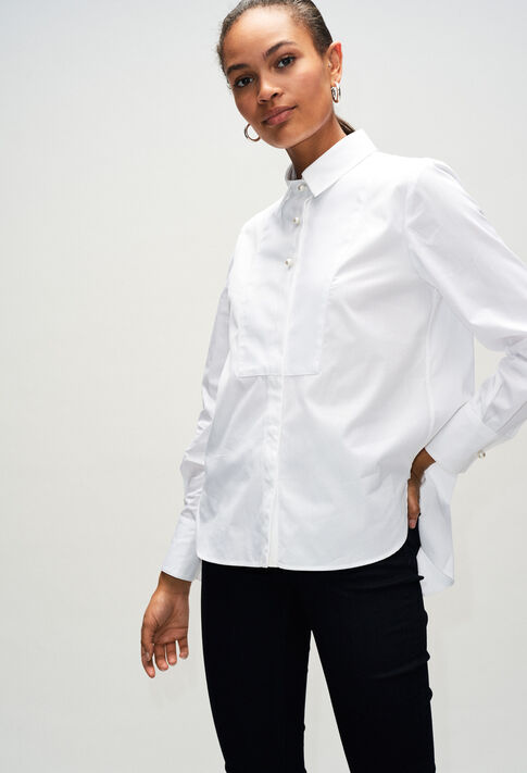 CHACHAH19 : Tops & Shirts color BLANC