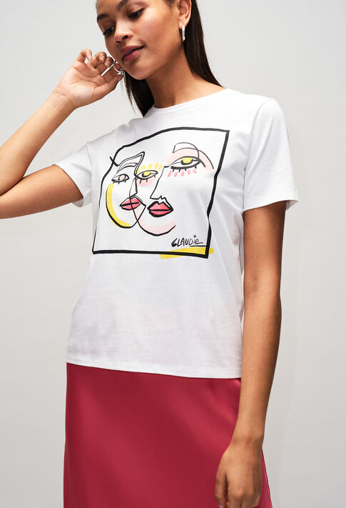 TRICHEUSEH19 : T-shirts color ECRU