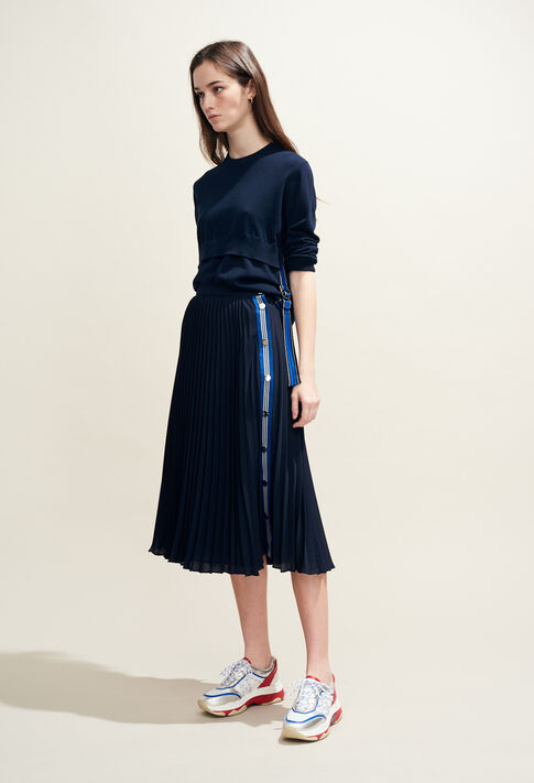 SEA : Skirts & Shorts color Navy