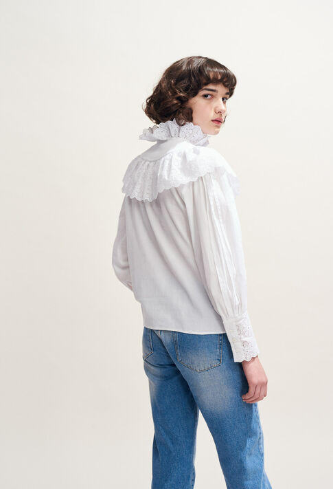 CALMI : Tops & shirts color White