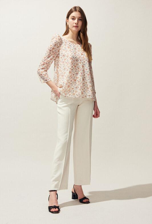 BANC ENNA : Tops & Shirts color IVOIRE