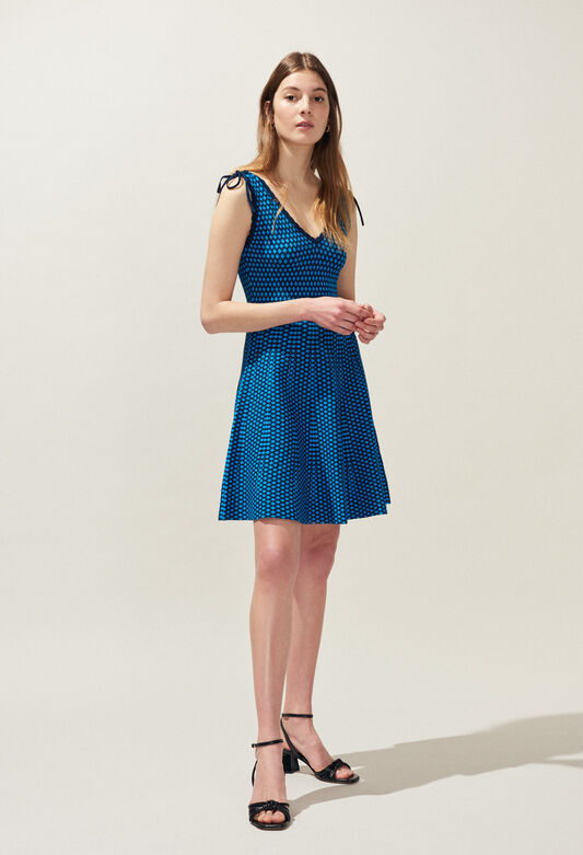 MUSCADE : Dresses color TURQUOISE