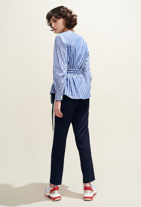 BANKSIA : Tops & shirts color Indigo