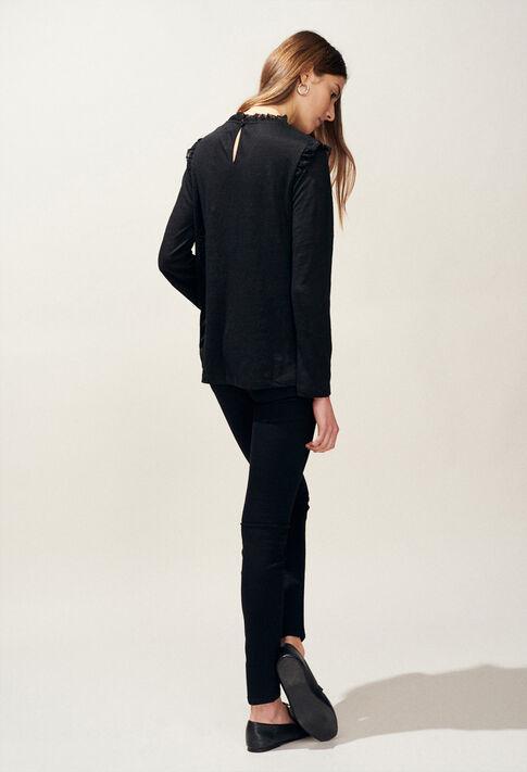 TACTILL : T-shirts color Black