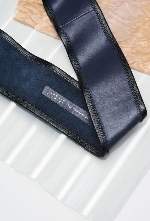 ANOUERH19 : Belts color NAVY