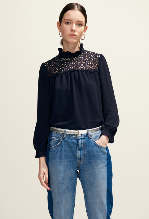 BADABOUM : Tops & Shirts color Navy