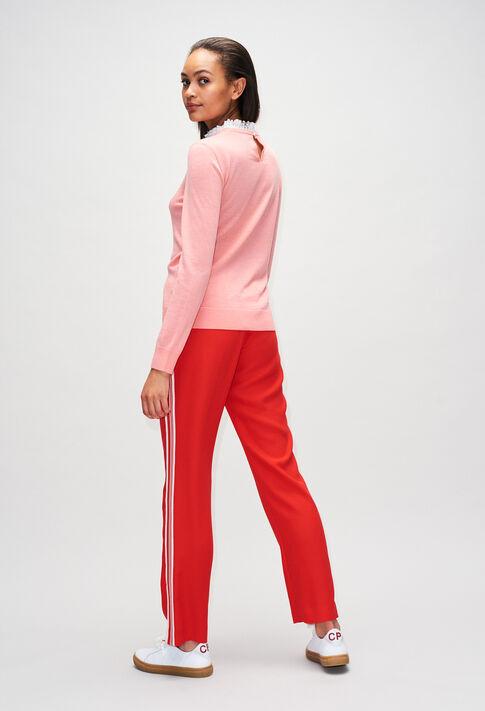 MIRAGEBisH19 : Knitwear & Cardigans color ROSE PECHE