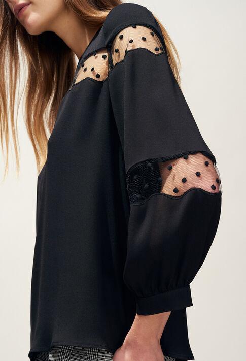 BELINI : Tops & shirts color Black