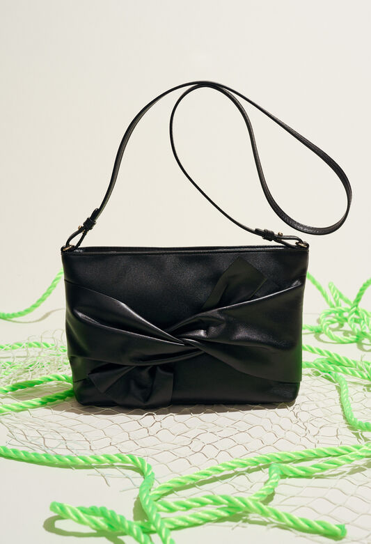 ALIX POUCH : Bags & Leather Goods color Black