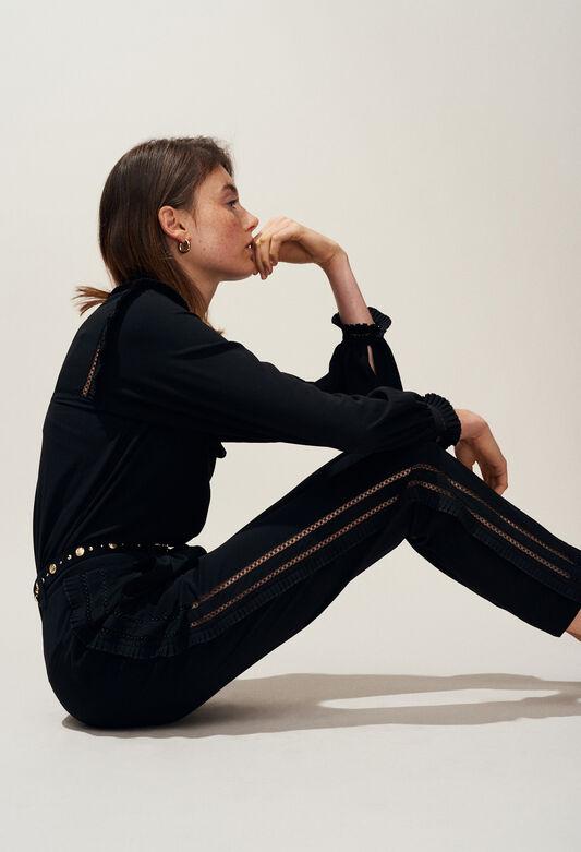 PAON : Pants, Skirts & Shorts color Black