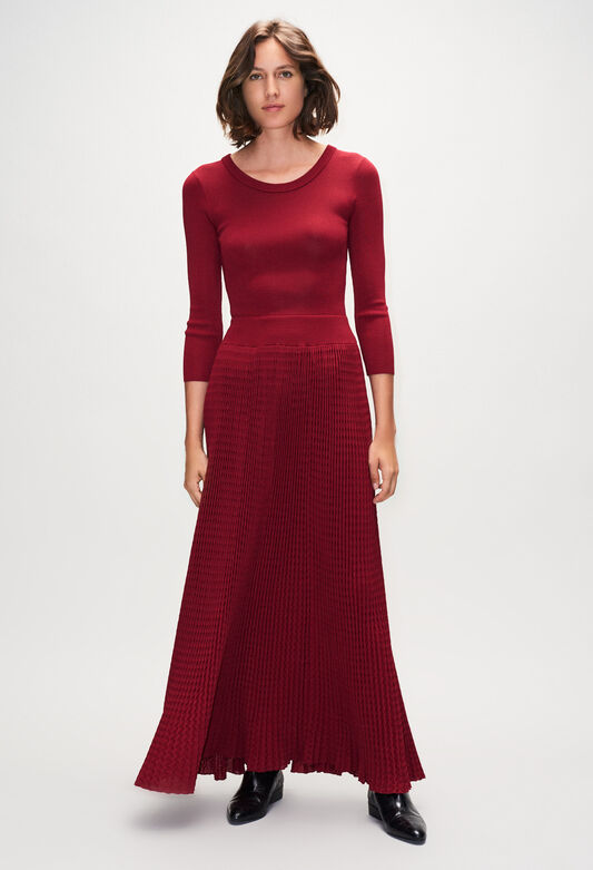 MAGNIFICAH19 : Dresses color CERISE