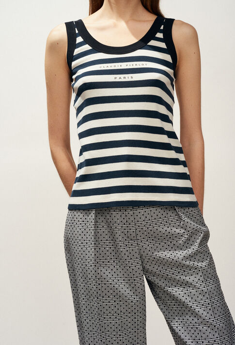 TESS : T-shirts color MARINIERE