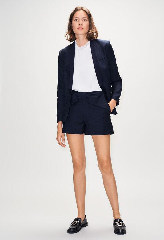 EDMONDPOISH19 : Skirts & Shorts color NAVY