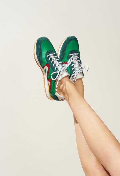 ABIGAILLE : Shoes color Green
