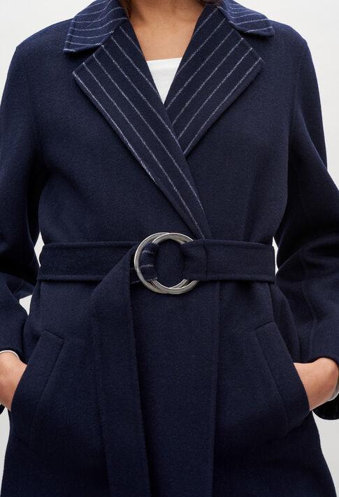 GINE20 : Coats & Jackets color NAVY