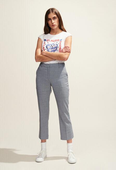 TEADORO : T-shirts color White