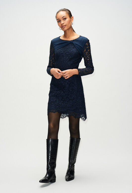 RUBENH19 : Dresses color NAVY