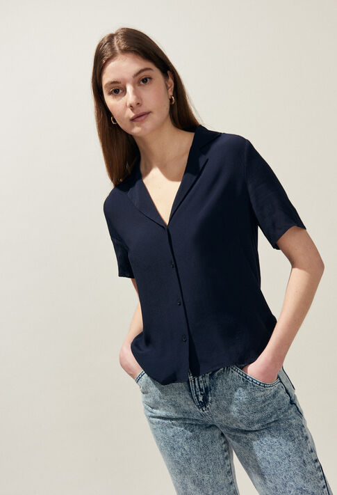 CAMBRIDGE BIS : Tops & Shirts color Navy