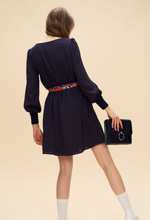 RAVAGEUSE : Dresses color Navy