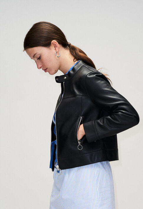 COSMOH19 : Coats & Jackets color BLACK