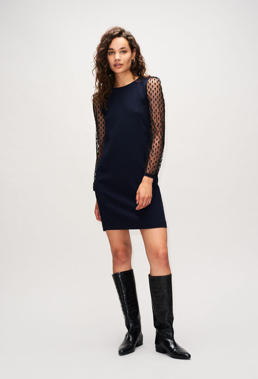 REVERENCEH19 : Dresses color NAVY