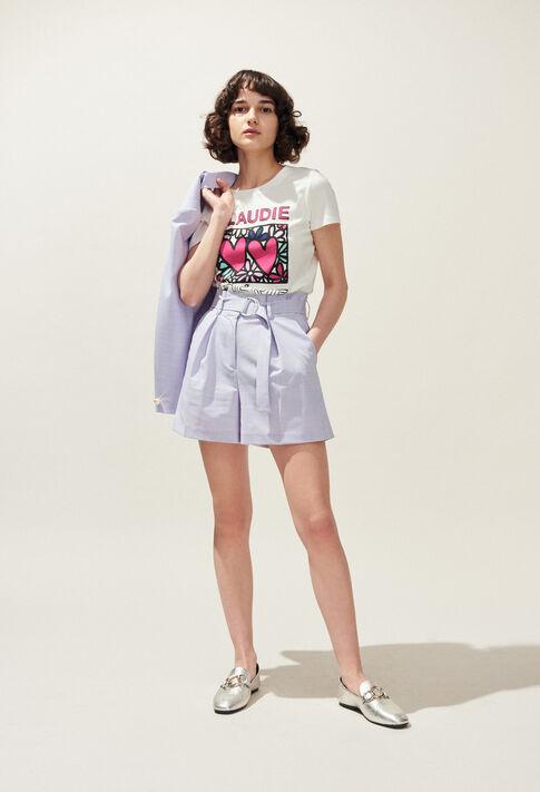 EDWARD : Skirts and shorts color Lilas