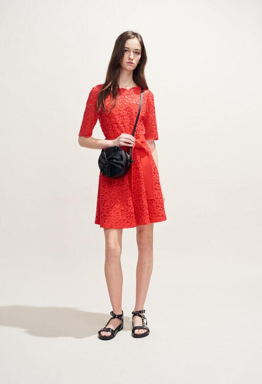 ROSELIE BIS : Dresses color ECARLATE
