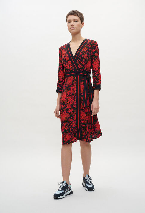 RESISE20 : Dresses color DARK PRINT