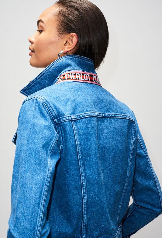 VANDAH19 : Coats & Jackets color JEAN