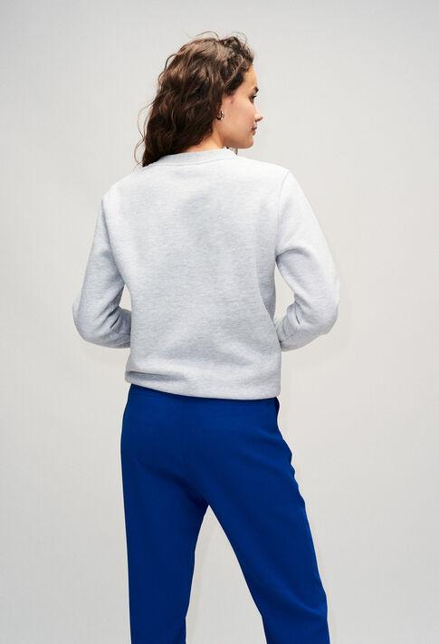 TOMYBISH19 : Knitwear & Cardigans color GRIS MELANGE
