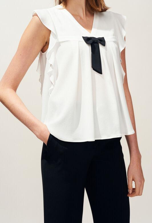 BRAVA : Tops & Shirts color Ecru