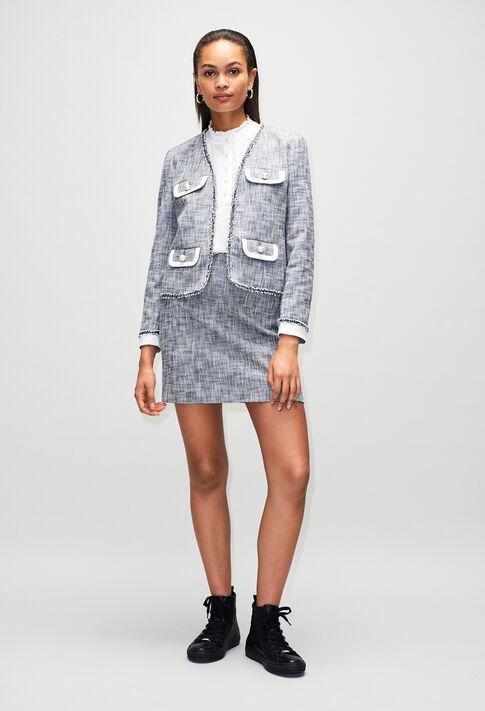 SEMILIAH19 : Skirts & Shorts color CHAMBRAY FONCE - SHIRTING