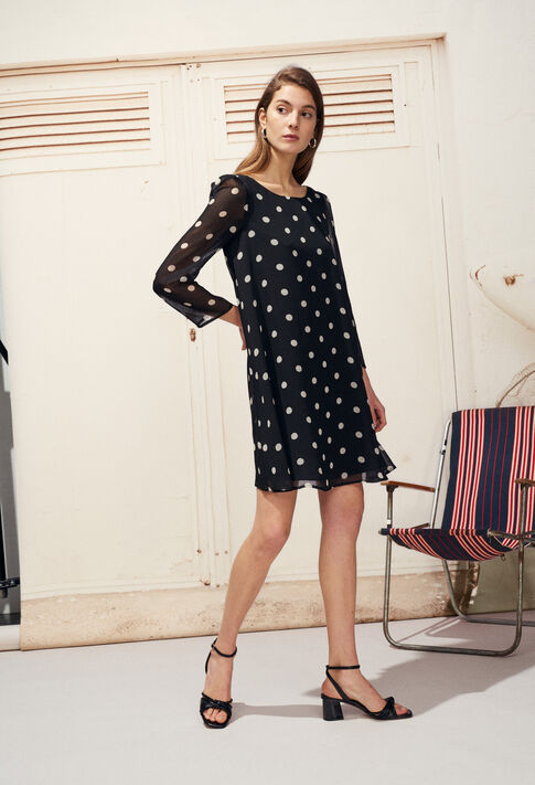 RIFIFI POIS : Dresses color Black