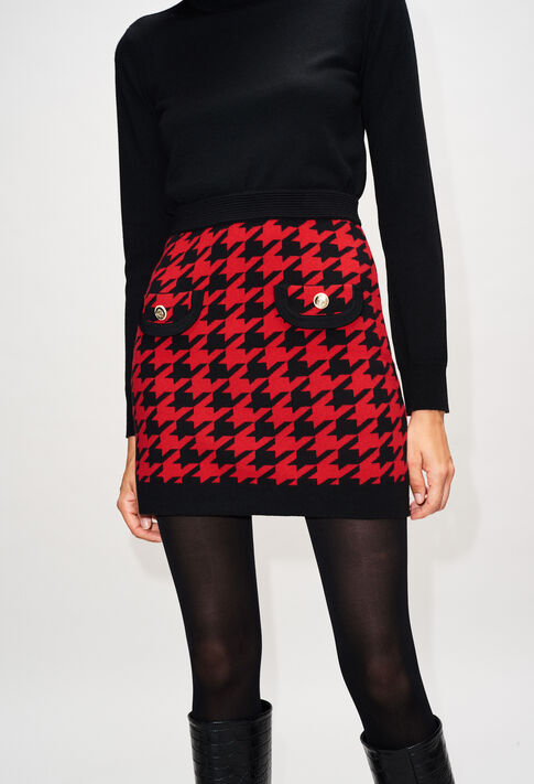 MAMAILLEH19 : Skirts & Shorts color CERISE