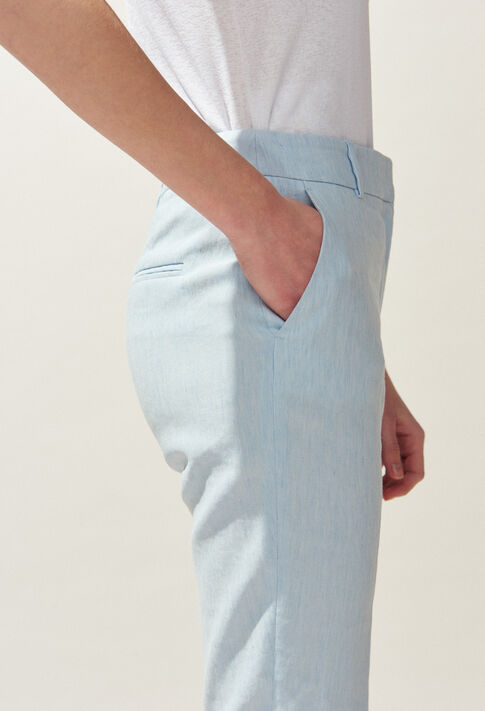 PATEL : Jeans & Pants color Ice Blue