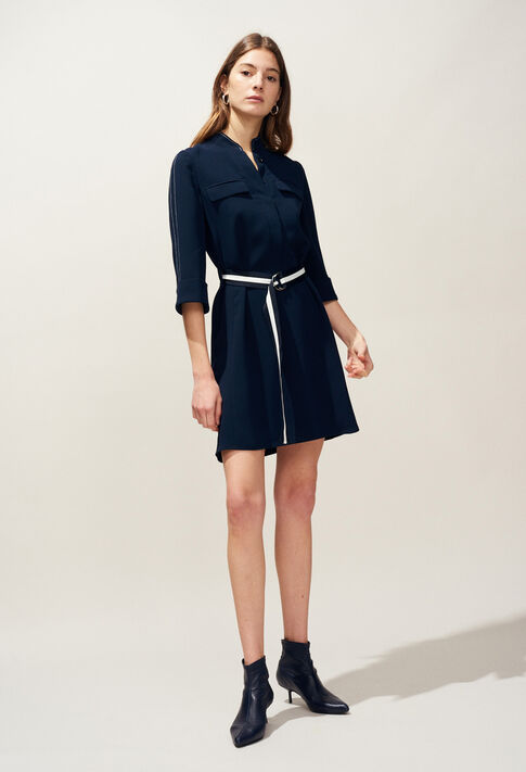 RECORD : Dresses color Navy