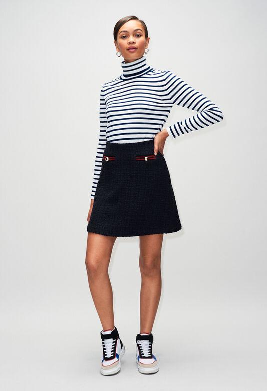 SAVANAH19 : Skirts & Shorts color NAVY
