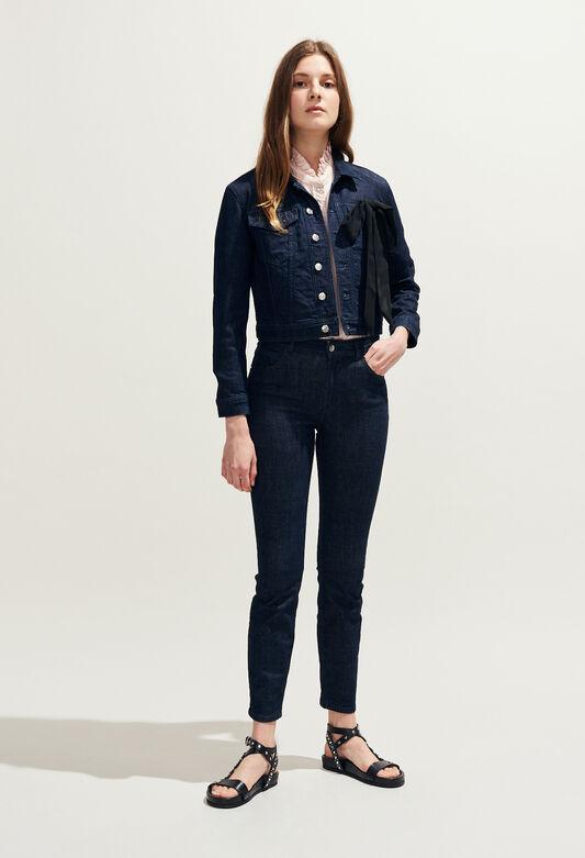 VIZIR : Coats & Jackets color Jean