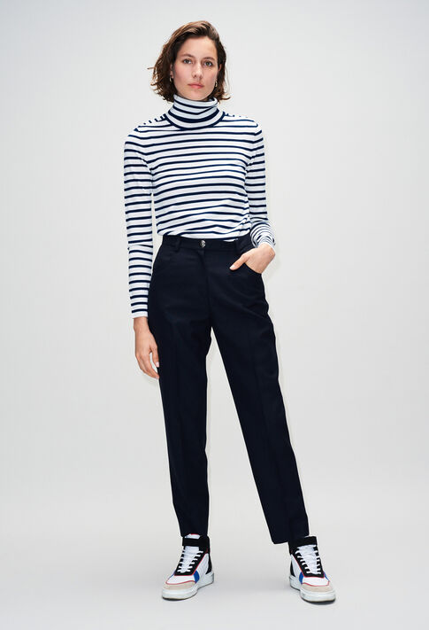 PANGOH19 : Jeans & Pants color NAVY