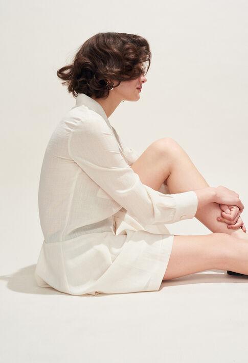 RABLE : Dresses color IVOIRE