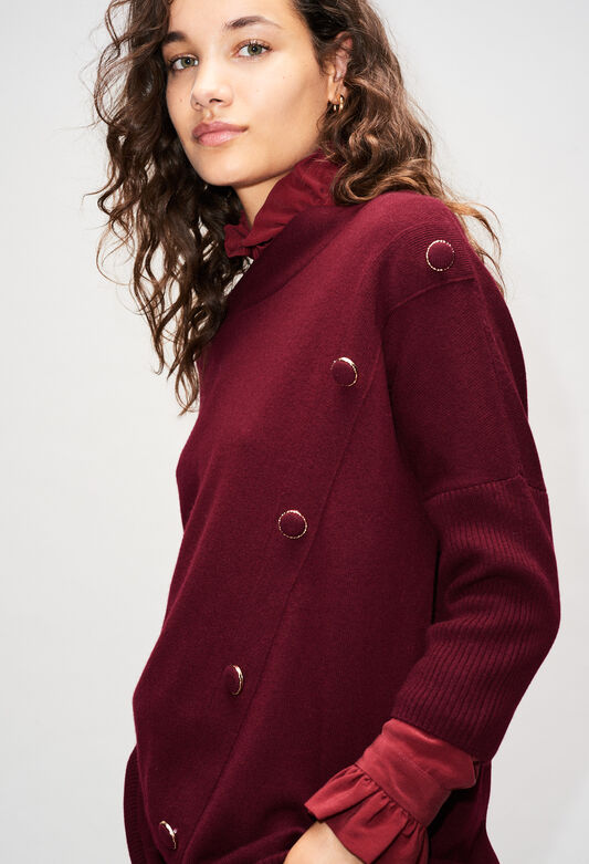 MARYH19 : Knitwear & Cardigans color VELVET