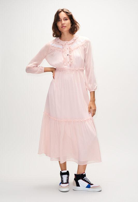 ROMUSH19 : Dresses color NUDE